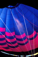 Balloon geometry - Inside of Dawn's Delight balloon at the Albuquerque Balloon Fiest in Oct. 2004
