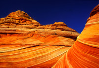 The Wave formation, Escalante Wilderness, UT